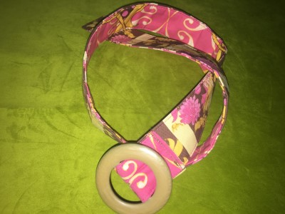 Belt in Pink Treetop Fancy