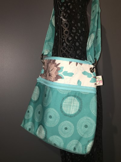 Large Messenger in Turquoise