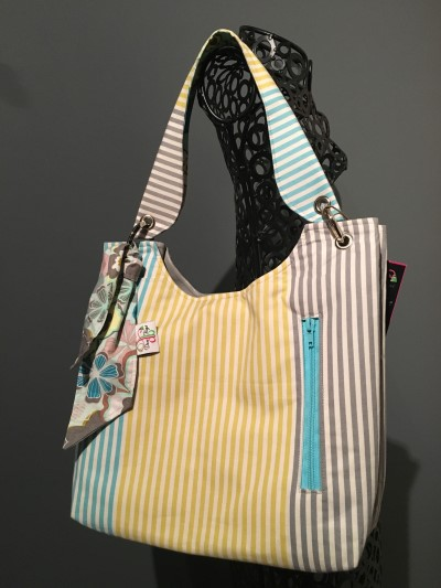 Sachet Bag in Stripes