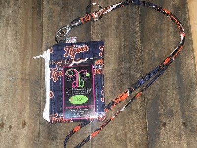Tigers orange Lanyard