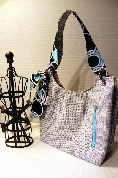 Small Sachet Bag in Dottie