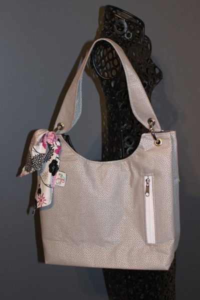 Small Sachet Bag in Grey