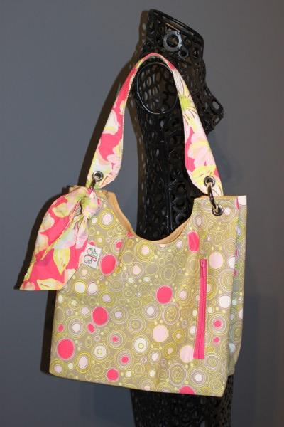 Small Sachet Bag in Naturella Brown