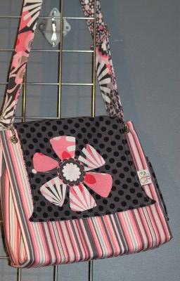 Stella Bag in Flower Shower with Applique