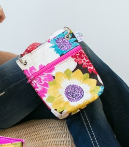 Mini Messenger in Flower Power