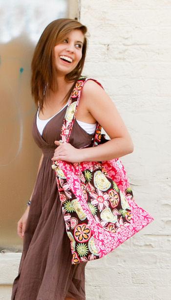 Colossal Bag in Carnival Bloom